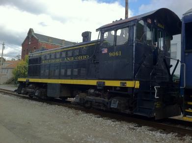 Railroad Street - Dunbar
