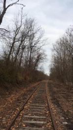 Former Pennsylvania Railroad Track between Uniontown and Dunbar
