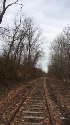 Former Pennsylvania Railroad Track between Uniontown and Dunbar