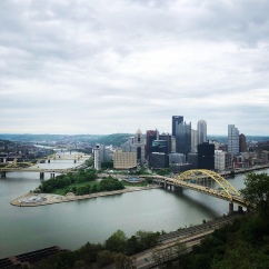 Pittsburgh, Pennsylvania from the Duquesne Incline