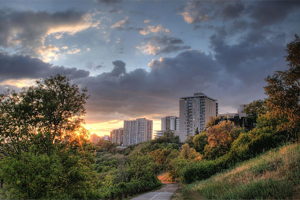 """Edmonton and the Fabric of Time"""