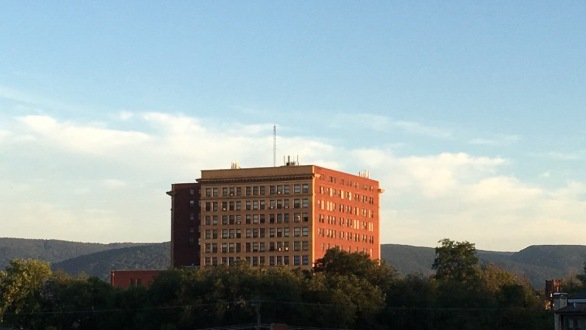 Fayette Building from Whiskey Hill