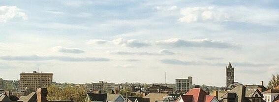 Skyline from Bill Power Stadium
