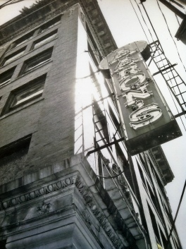 The Aaron's Building in Connellsville, Pennsylvania before a recent restoration project.