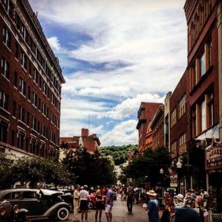 Baltimore Street in Cumberland, Maryland