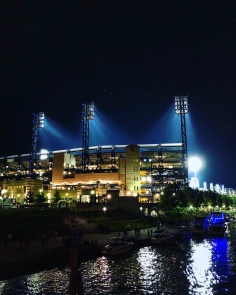 PNC Park in Pittsburgh, Pennsylvania from the Allegheny River