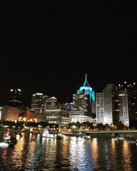 Pittsburgh, Pennsylvania from the Allgheny River