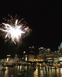 Fireworks in Pittsburgh, Pennsylvania