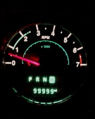 99,999 miles on my jeep