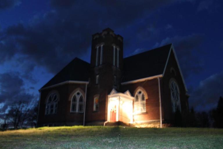 """The Haunted Church"""